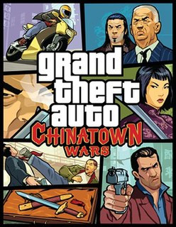 <i>Grand Theft Auto: Chinatown Wars</i> video game for Nintendo DS, PlayStation Portable, iOS and Android developed by Rockstar Leeds