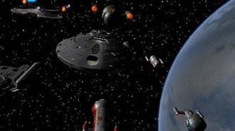 Star Trek: Intrepid - The Chiron Colonial Convoy