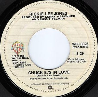 Chuck E.'s In Love - Image: Chuck E.'s In Love Rickie Lee Jones