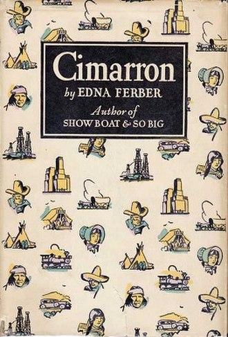 Cimarron (novel) - First edition (Doubleday, Doran)
