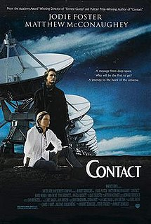 <i>Contact</i> (1997 American film) 1997 American science fiction drama film directed by Robert Zemeckis