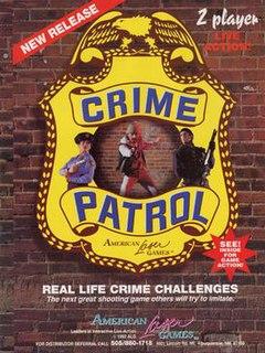 <i>Crime Patrol</i> (video game) 1993 live-action video game