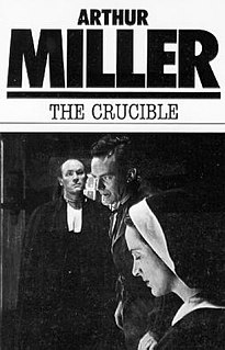 <i>The Crucible</i> 1953 play by Arthur Miller