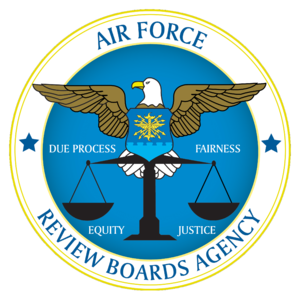 Air Force Review Boards Agency - Image: DOD FOA AFRBA LOGO