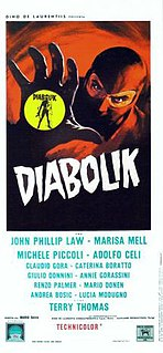 <i>Danger: Diabolik</i> 1968 film directed by Mario Bava