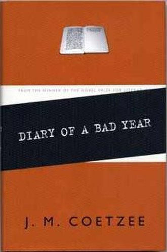 Diary of a Bad Year - First edition