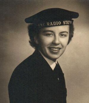 CFB Cornwallis - The WRENS started training for the RCN at HMCS Cornwallis in 1951. Doreen Nettie Patterson (1927–2000) was one of the recruits.