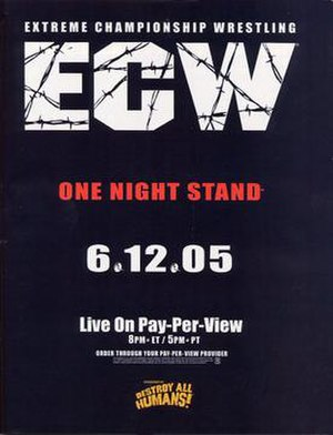 ECW One Night Stand (2005) - Promotional poster