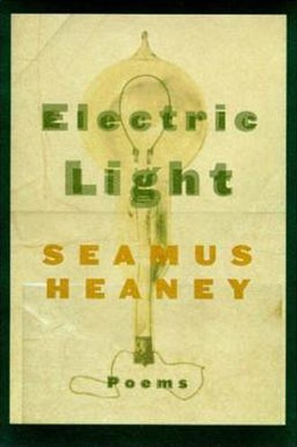 Electric Light (poetry collection) - Hardback first American edition