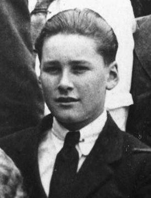 Errol Flynn - Errol Flynn at South West London College aged 14 (1923)