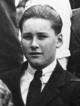 Errol Flynn - Errol Flynn at South West London College aged 14 (1923)