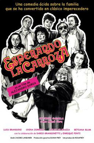 Waiting for the Hearse - Spanish language theatrical release poster