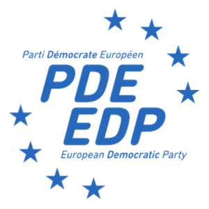 European Democratic Party - Image: European Democratic Party logo