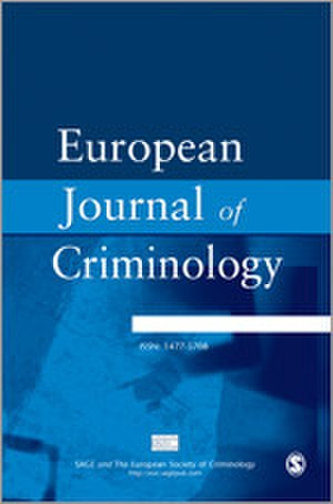 European Journal of Criminology - Image: European Journal of Criminology