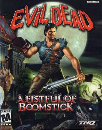 Evil Dead: A Fistful of Boomstick - Image: Evil Dead A Fistful of Boomstick Coverart