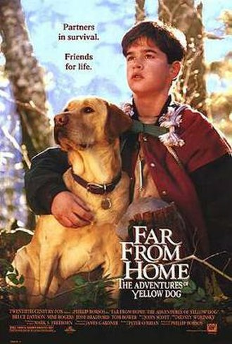 Far from Home: The Adventures of Yellow Dog - Image: Far from Home poster