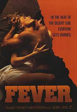 Fever (1989 film) - Theatrical release poster