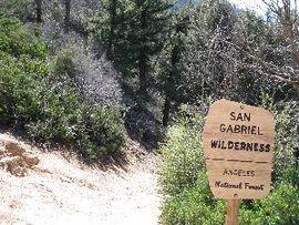 San Gabriel Wilderness Wikipedia