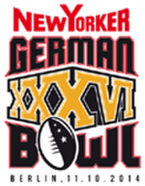 2014 German Football League - Image: German Bowl XXXVI