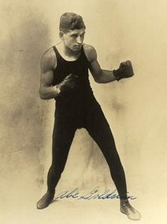 Abe Goldstein American boxer