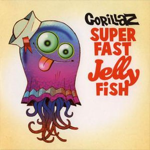 Superfast Jellyfish - Image: Gorillaz Superfast Jellyfish