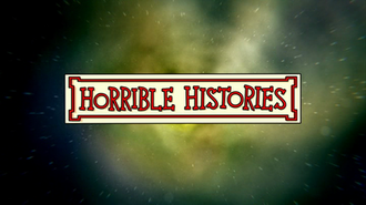 Horrible Histories (2009 TV series) - Title logo (with background used from Series 2 onwards)