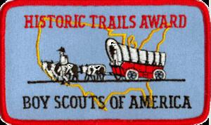 Historic Trails Award - Historic Trails Award patch