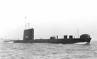 HMS <i>Odin</i> (S10) Oberon-class submarine