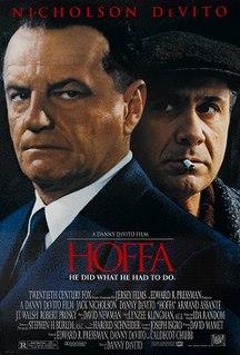 <i>Hoffa</i> (film) 1992 film by Danny DeVito
