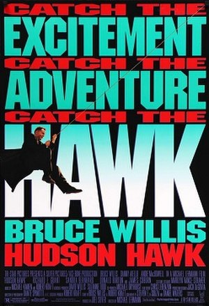Hudson Hawk - Theatrical release poster