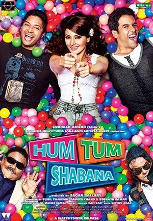 Hum Tum Shabana - Theatrical release poster
