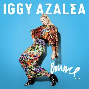 Bounce (Iggy Azalea song) - Image: Iggy Azalea Bounce, single cover