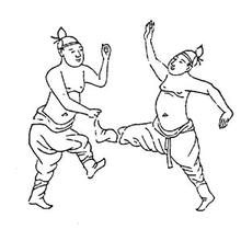 Illustration of kwonbup practitioners from the muyedobotongji.png
