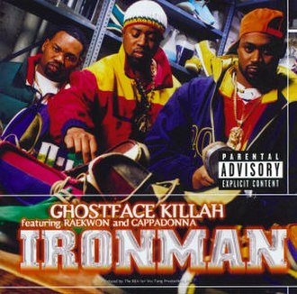 Ironman (Ghostface Killah album) - Image: Ironman