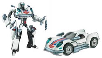 Jazz (Transformers) - Animated Jazz toy
