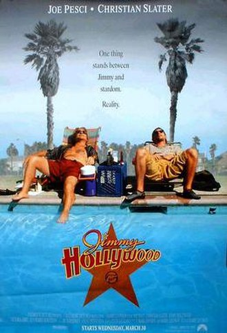 Jimmy Hollywood - Theatrical release poster