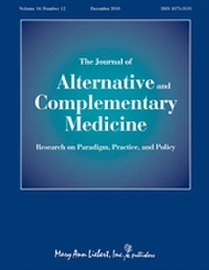 Journal of Alternative and Complementary Medicine - Image: Journal of Alternative and Complementary Medicine