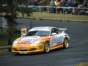 Jim Richards (racing driver) - Jim Richards and Barry Oliver competing in the 2005 Targa Tasmania