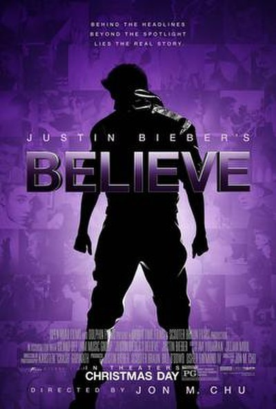 Picture of a movie: Justin Bieber's Believe