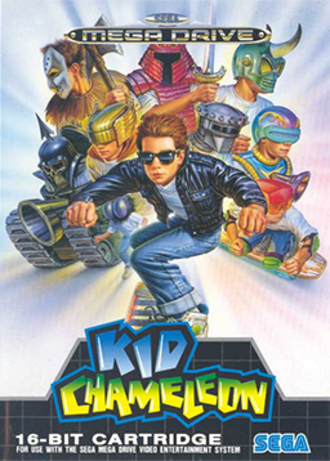 Kid Chameleon - PAL boxart