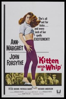 KITTEN WITH A WHIP Movie Poster