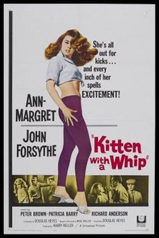 Ann Margret Bye Bye Birdie Kitten with a Whip - W...
