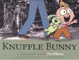<i>Knuffle Bunny</i> book by Mo Willems