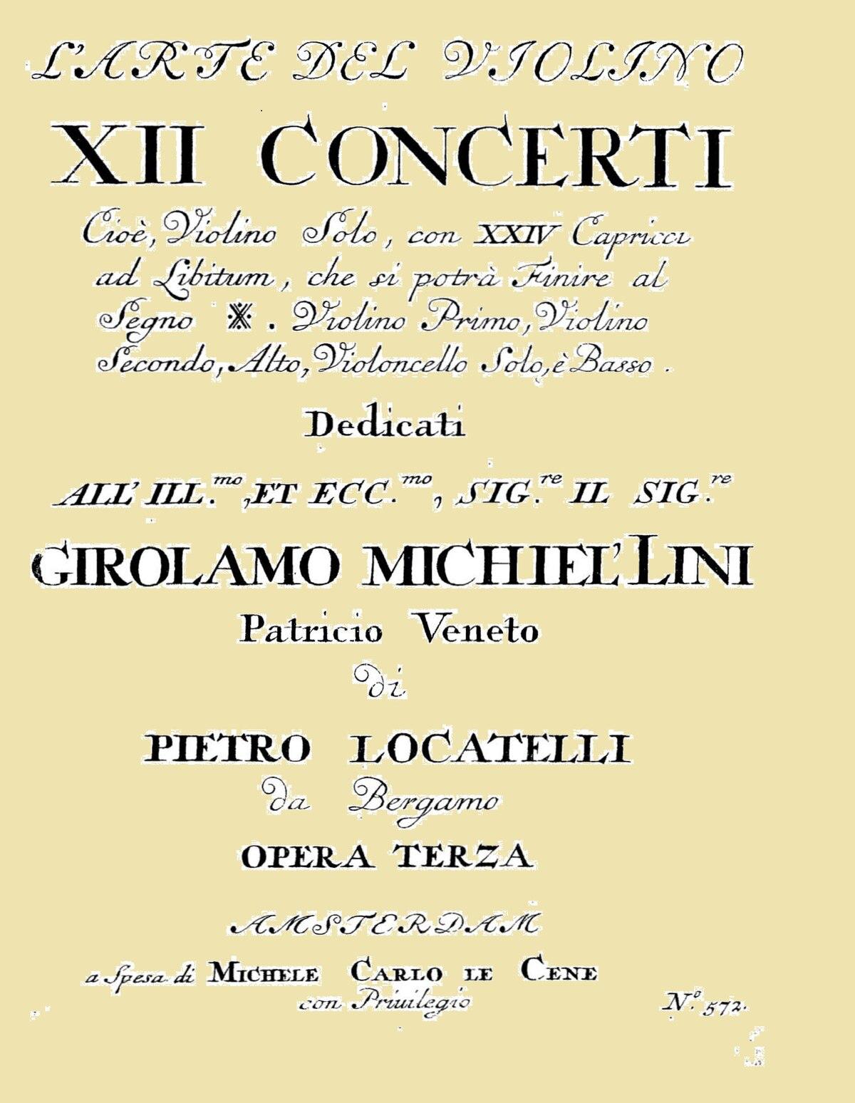 L'arte del violino - Wikipedia
