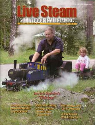 Live steam - Sept/Oct 2005 issue of Live Steam magazine
