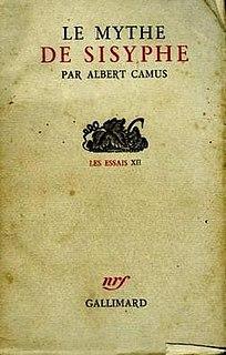 <i>The Myth of Sisyphus</i> philosophical essay by Albert Camus