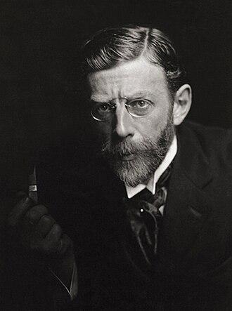 Leon Dabo - Dabo in 1909, photo by E.O. Hoppé