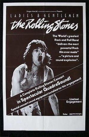 Ladies and Gentlemen: The Rolling Stones - Image: Lgtherollingstones