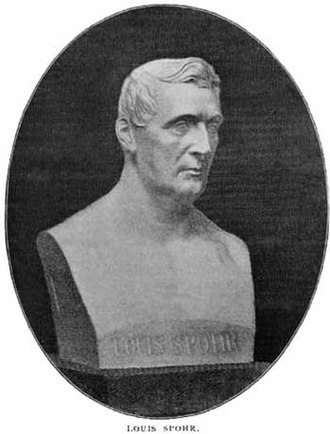 Louis Spohr - Bust of Spohr