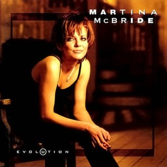 Evolution (Martina McBride album) - Image: Martina Mc Bride Evolution album cover